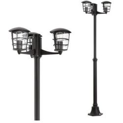 Zewnętrzna LAMPA stojąca ALORIA 93409 Eglo aluminiowa OPRAWA ogrodowa LATARNIA IP44 outdoor czarny, kup u jednego z partnerów
