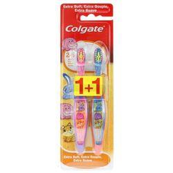 Colgate Szczoteczka do zębów dla dzieci 2-6 lat miękka 1+1 szt.