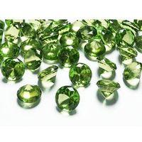 Diamentowe konfetti - jasnozielone - 20 mm - 10 szt. (5901157430946)