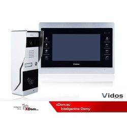 Zestaw wideodomofonu z czytnikiem kart RFID Vidos S50A_M901S