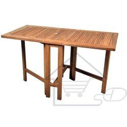 Hurtowniak.pl Stół drewniany ogrodowy 130x65cm