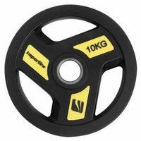Obciążenie gumowane olimpijskie  herk 10 kg - 10 kg od producenta Insportline