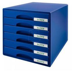 Leitz Pojemnik plus z 6 szufladami niebieski (4002432102334)