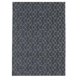 Carpet Decor:: Dywan Cube Anthracite 160x230cm - ciemno szary