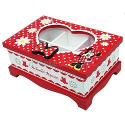 Myszka Minnie, szkatułka z lusterkiem z kategorii Pozostałe artykuły szkolne i plastyczne