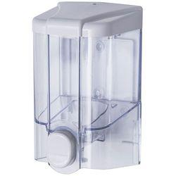 Dozownik do mydła w płynie 0,5 litra JET Faneco plastik przezroczysty (5901764291978)