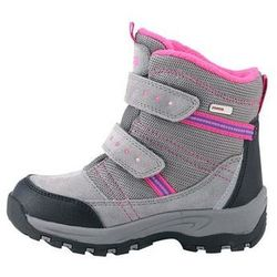 Buty Reima zimowe ReimaTec REILLY szare / róż - produkt z kategorii- Pozostała moda i styl