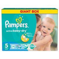 PAMPERS Active Baby 5 JUNIOR (11-18kg) 78 szt. GIANT BOX PLUS – pieluszki jednorazowe