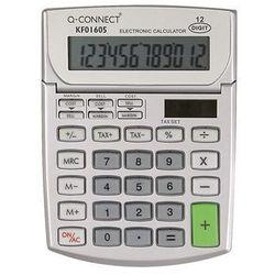 Kalkulator biurkowy 12-cyfrowy, 102x140mm, szary marki Q-connect