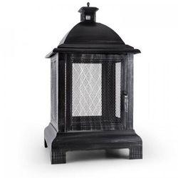 Loreo palenisko kominek ogrodowy latarnia piec ogrodowy stal oksydowana marki Blumfeldt