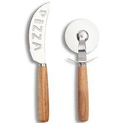 Zeller Zestaw profesjonalnych akcesoriów do cięcia pizzy, profesjonalne noże kuchenne, zestaw noży, noże
