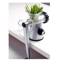 Ręczna wyciskarka soku LEXEN Manual Healthy Juicer - NOWY MODEL srebrna