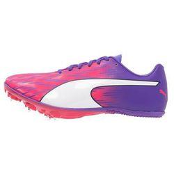 Puma EVOSPEED SPRINT 7 Obuwie do biegania startowe sparkling cosmo/electric purple/white - produkt z kategorii