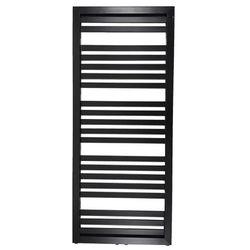 Grzejnik łazienkowy Kleo 128 x 54 cm czarny (5906728450507)