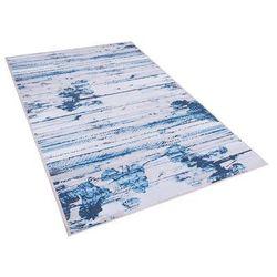 Beliani Dywan niebieski 80 x 150 cm krótkowłosy burdur (4260624113357)