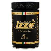 KAWA WŁOSKA IZZO CAFFE 100% Arabica Gold 250g ziarnista (8019925000097)
