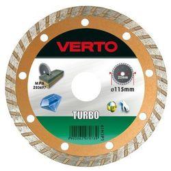 Tarcza do cięcia VERTO 61H3P5_C 125 x 22.2 diamentowa turbo