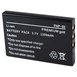 Akumulator CGA-S301 VW-VBA10 / NP-60F 1300mAh (Panasonic) - produkt z kategorii- akumulatory dedykowane