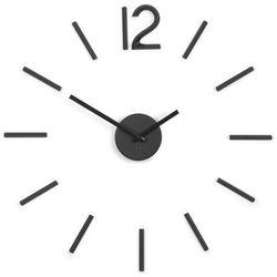 UMBRA - Blink Zegar ścienny, czarny, kolor czarny