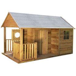 Drewniany domek ogrodowy dla dzieci szymon marki 4iq