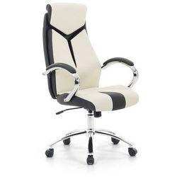 Krzesło biurowe beżowe - fotel biurowy obrotowy - meble biurowe - formula 1 marki Beliani