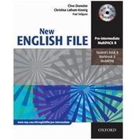 New English File: Pre-Intermediate: Multipack B Six-Level General English Course for Adults