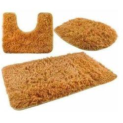 Zestaw dywaników łazienkowych brąz marki Iso trade