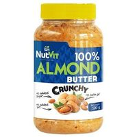 NUTVIT 100% Almond Butter - 500g - Crunchy (5902232610055)