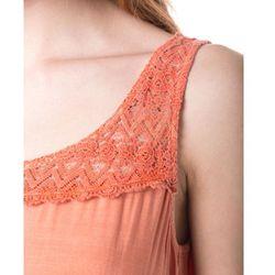 Tom Tailor Sukienka Pomarańczowy M (4057655093471)