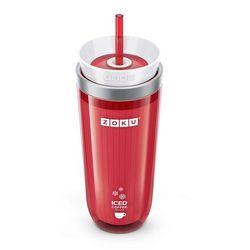 Kubek do mrożonej kawy lub herbaty iced coffee maker czerwony marki Zoku