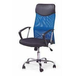 VICTUS fotel gabinetowy - czarny ||niebieski, V-CH-VIRE-FOT-NIEBIESKI