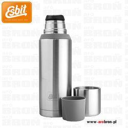 Termos Esbit Vacuum Flask Plus 1l steel/grey - 2 kubki