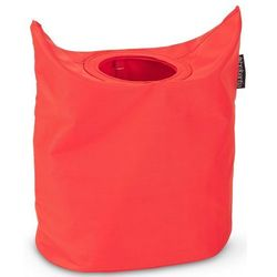 Kosz na bieliznę BRABANTIA 102523 Laundry To Go Oval 55L Czerwony