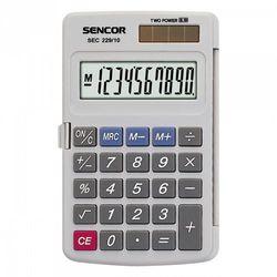 kalkulator kieszonkowy sec 229/10 >> bogata oferta - szybka wysyłka - promocje - darmowy transport od 99 zł! marki Sencor