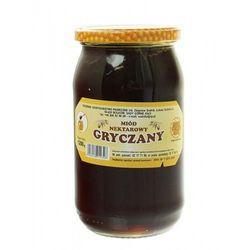 Miód gryczany nektarowy 1200g Rodzinna Pasieka Sudnik (5908248911346)