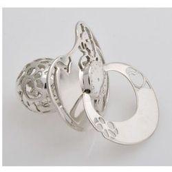 Ażurowy smoczek ze srebra - (a#sm004) marki Asimexplus