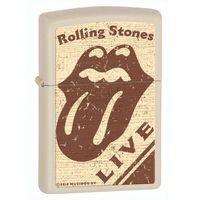 Zapalniczka ZIPPO Rolling Stones LIVE, Cream Matte (Z28018) z kategorii Zapalniczki