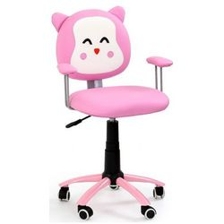 Fotel dziecięcy tobi - różowy marki Profeos.eu