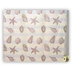 Zasłonka prysznicowa pcv 180x200 starfish marki Bisk
