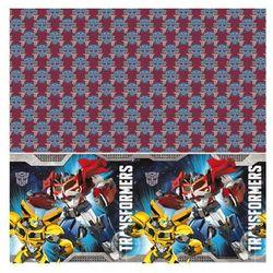 Obrus urodzinowy transformers - 120 x 180 cm - 1 szt. marki Amscan