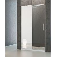 espera mirror dwj drzwi wnękowe jednoczęściowe przesuwane z częścią stałą, ze szkłem lustrzanym - 100