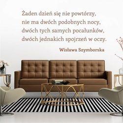 Wally - piękno dekoracji Szablon do malowania cytat: żaden dzień się nie powtórzy 1938
