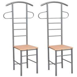 krzesło i wieszak w jednym, 2w1. marki Vidaxl
