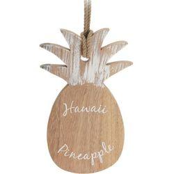 Eh excellent houseware Dekoracyjna deska do krojenia pineapple, serwowania potraw - drewno kauczukowe