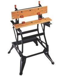 Stół warsztatowy workmate® z pionową szczęką black & decker wyprodukowany przez Black+decker power tools