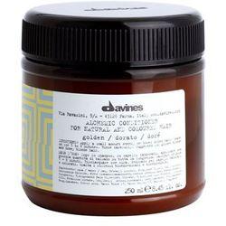Davines Alchemic Golden odżywka nawilżająca dla podkreślenia koloru włosów (For Natural and Coloured Hair-Suggested for Golden Blonde and Honey Blonde