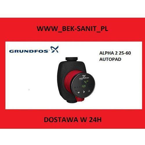 GRUNDFOS POMPA CO ALPHA 2 AUTOADAPT 25-60 - produkt z kategorii- Pozostałe ogrzewanie