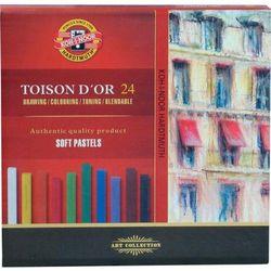Pastele suche  Toison D`or 24 kolory, produkt marki Koh-i-noor