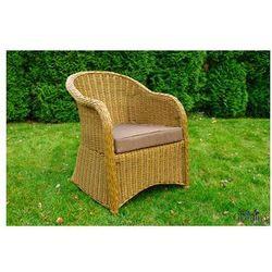 """Krzesło ogrodowe """"Primo""""- słomkowy"""