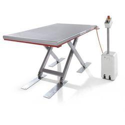Płaski stół podnośny, seria g, nośność 500 kg, zakres podnoszenia 80 - 850 mm, d marki Flexlift hubgeräte